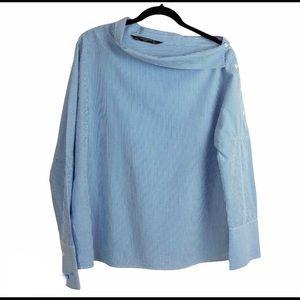 ZARA TRAFALUC COLLECTION pullover square collar